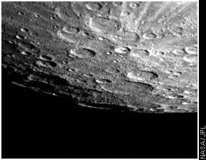 Craterele Planetei Mercur